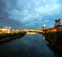 Nashville River Twylight  by Rob Hawkins
