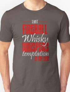 Fireball Whisky Whispers Temptation Red Hot T-Shirt