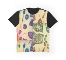 Crazy clocks Graphic T-Shirt