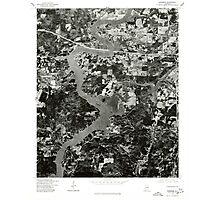 USGS TOPO Map Alabama AL Riverside 304954 1975 24000 Photographic Print