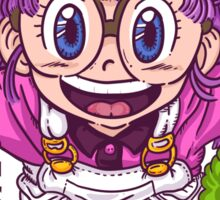 Arale - dr slump  Sticker
