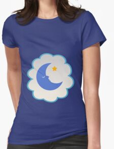 Bedtime Bear (low version) Womens Fitted T-Shirt