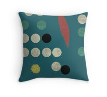 BSTRCT II Throw Pillow