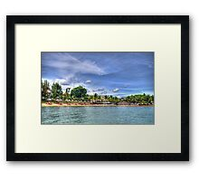 The Mauritius Collection - Lux Grand Gaube Main Beach Framed Print