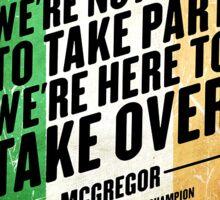 Conor McGregor Items!!! Sticker