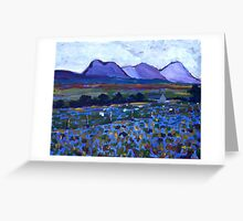 Errigal And Her Sisters Greeting Card