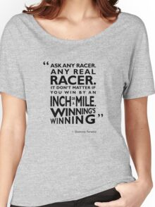Ask Any Racer Women's Relaxed Fit T-Shirt