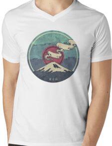 Fuji Mens V-Neck T-Shirt