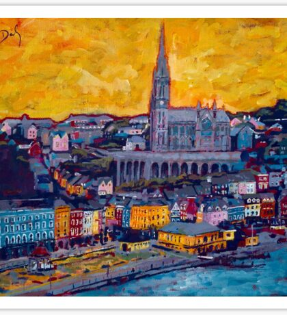 Cobh 3 - Cork Sticker