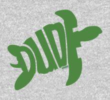 Dude (Green) One Piece - Long Sleeve