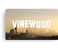 Vinewood Sign - GTA V Canvas Print