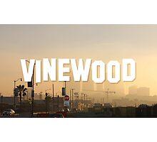 Vinewood Sign - GTA V Photographic Print