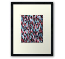 Yarn Bomb Framed Print
