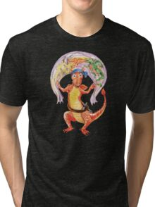 Baby Dragon ready for Adventures Tri-blend T-Shirt