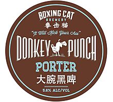 Boxing Cat Brewery Donkey Punch Porter Chinese Beer Photographic Print