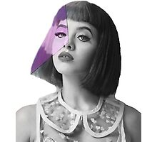 Melanie Martinez pink face Photographic Print