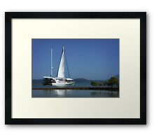 Reef Cruiser - Port Douglas Framed Print