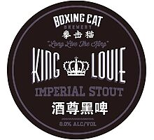 Boxing Cat Brewery King Louie Imperial Stout Chinese Beer Photographic Print