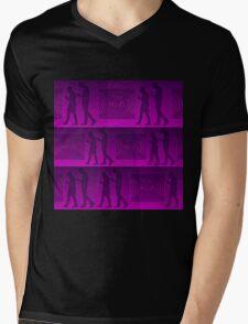 FREE WI-FI Mens V-Neck T-Shirt