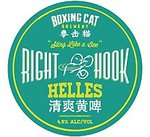 Boxing Cat Brewery Right Hook Helles Chinese Beer Photographic Print