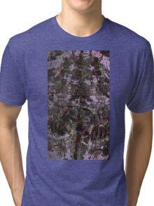 PINBALL ABSTRACT BLING  Tri-blend T-Shirt