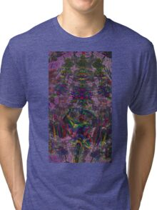 PINBALL ABSTRACT FOGGY MIST  Tri-blend T-Shirt