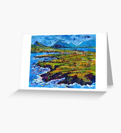 View from Clogher Head Greeting Card