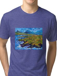 View from Clogher Head Tri-blend T-Shirt