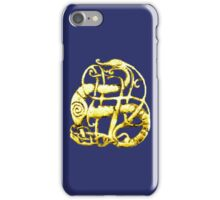 Viking dragon - Scandinavia, 11th century iPhone Case/Skin