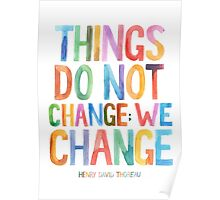 We Change Poster