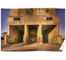 Cement works 3 - Geelong Poster