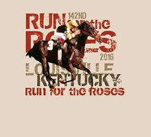 142nd Run for the Roses 2016 Triple Crown Horse Racing Unisex T-Shirt