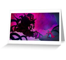 Judgment - Hyper Light Drifter Greeting Card