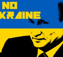 PUTIN 'UKRAINE NO MYKRAINE' Sticker