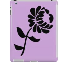 Leaning Flower on Pink iPad Case/Skin