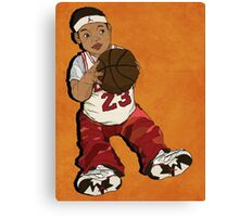 basketball boy Canvas Print
