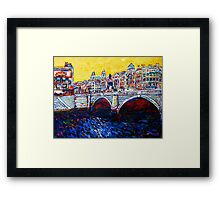 O'Connell Bridge, Dublin Framed Print
