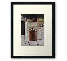 Istanbul Fountain Framed Print