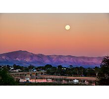FULL MOON RISING Photographic Print
