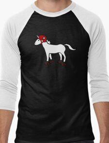 Roller Derby Unicorn Men's Baseball ¾ T-Shirt