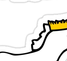 The Majestic Narwhalicorn Sticker
