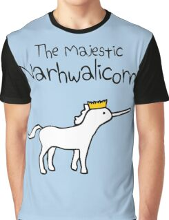 The Majestic Narwhalicorn Graphic T-Shirt