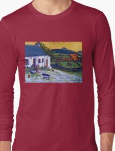 Shillelagh Cottage, Wicklow Long Sleeve T-Shirt