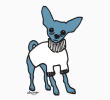 Wildago's Blue Chihuahua Kids Tee