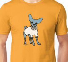Wildago's Blue Chihuahua Unisex T-Shirt