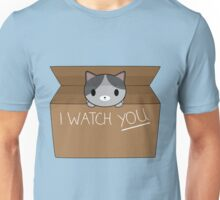 Cats always watching you Unisex T-Shirt