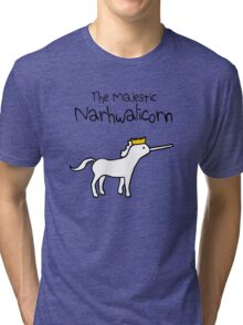 The Majestic Narwhalicorn Tri-blend T-Shirt