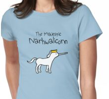 The Majestic Narwhalicorn Womens Fitted T-Shirt