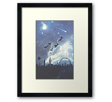 Welcome to Neverland- version 2 Framed Print