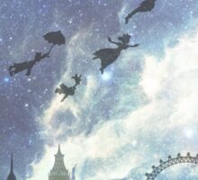 Welcome to Neverland- version 2 Sticker